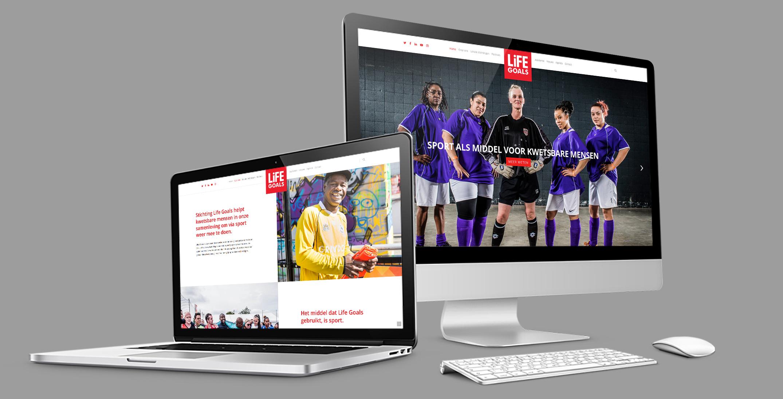 Life Goals presenteert: een geheel nieuwe website
