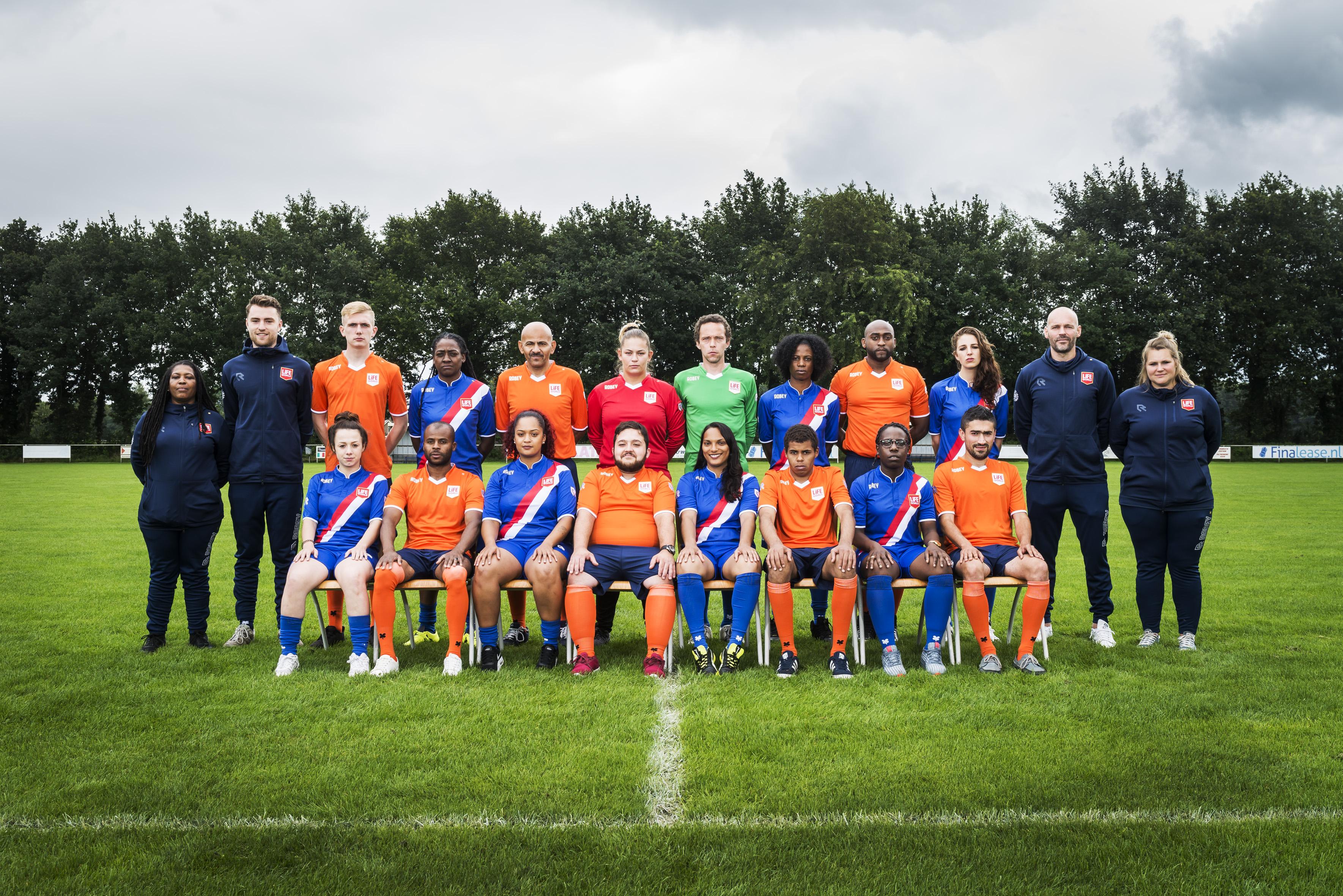 Nederlandse equipe klaar voor Homeless World Cup Oslo