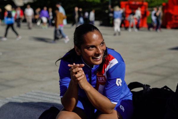 Vivian Homeless World Cup Oslo