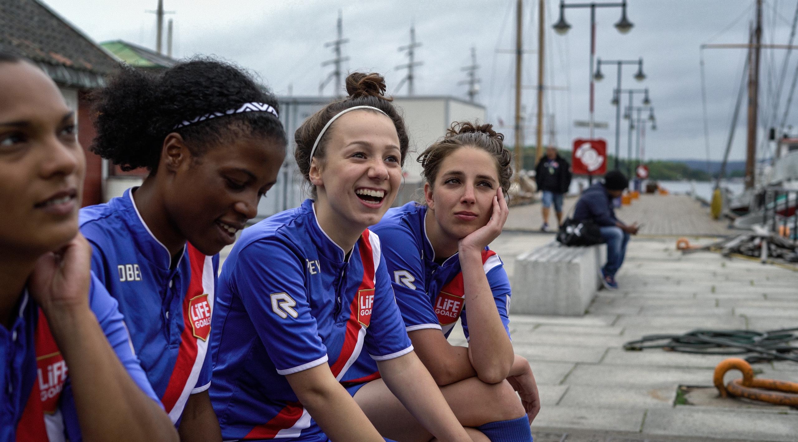 Nederlandse teams voelen zich thuis op de Homeless World Cup in Oslo