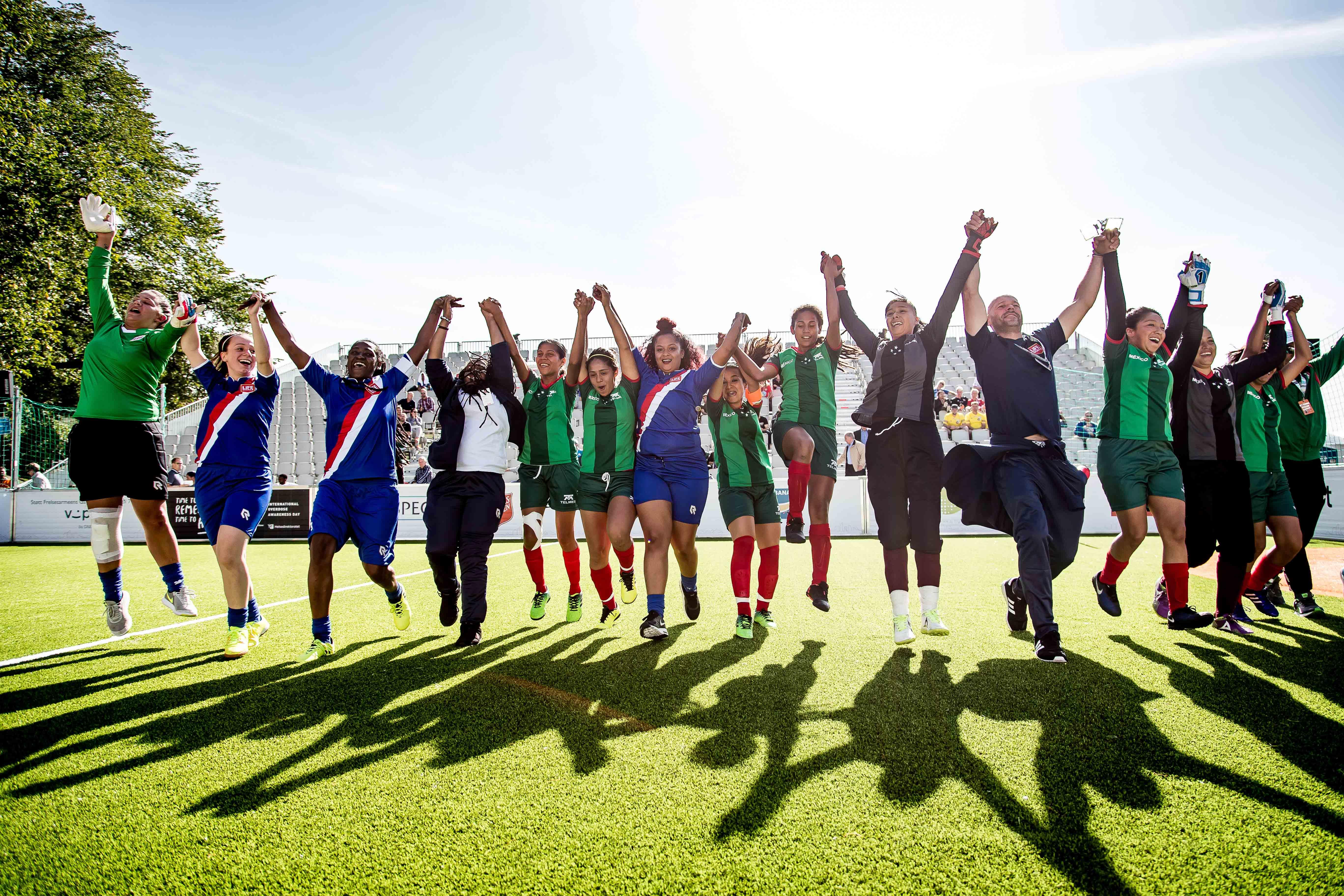 """""""Sport kan effectief zijn voor kwetsbare mensen, mits goed toegepast."""""""