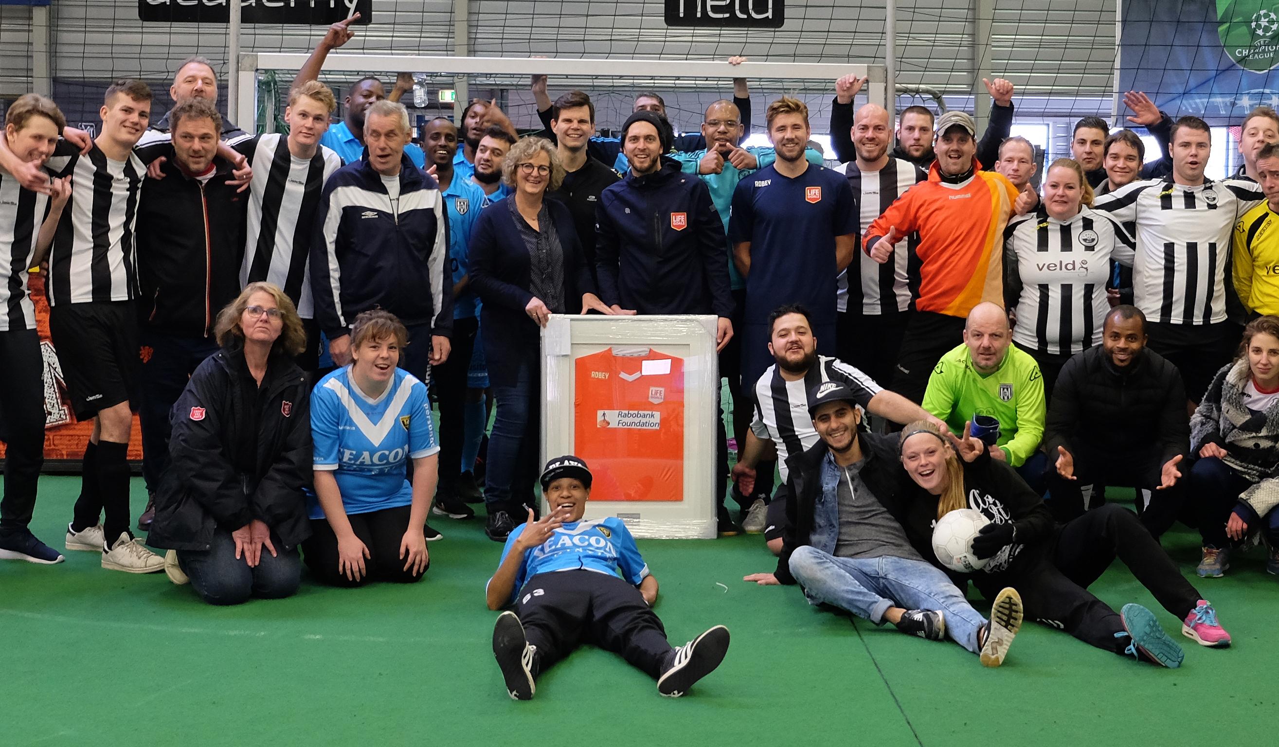 Rabobank Foundation steunt Life Goals Nederland