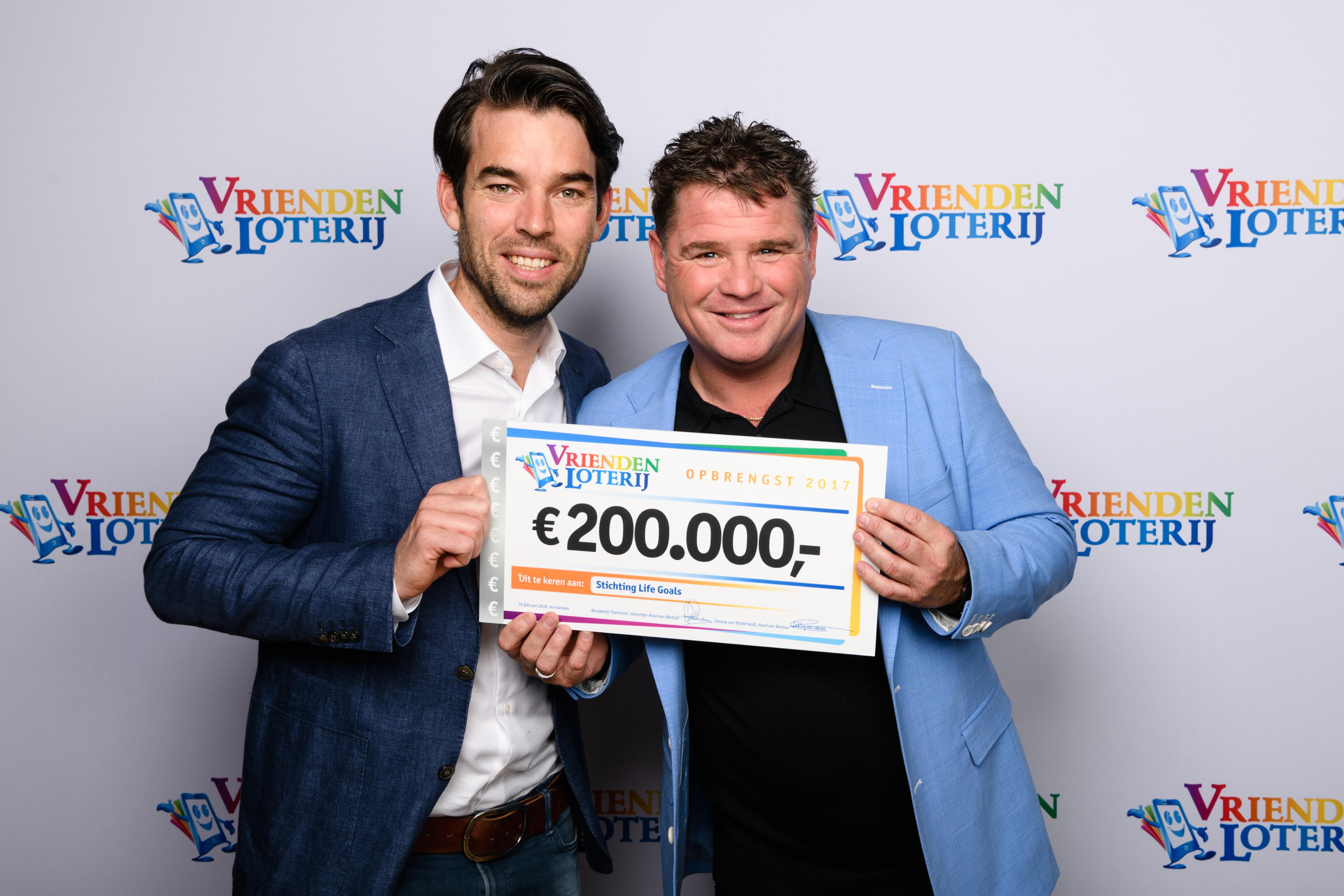 Life Goals Nederland één van de nieuwe vaste goede doelen van de VriendenLoterij