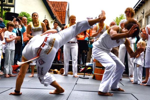 Which side-events will you join? Capoeira!